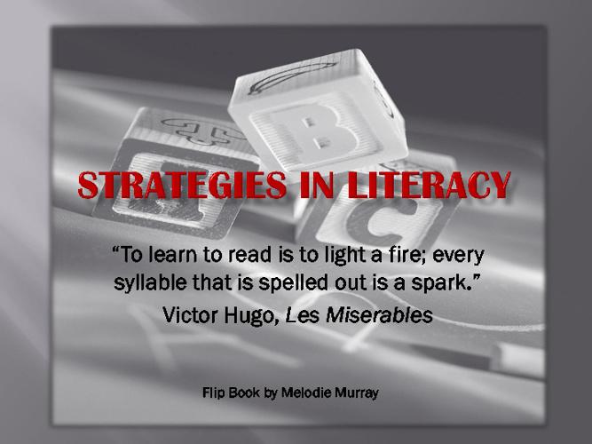 Strategies in Literacy