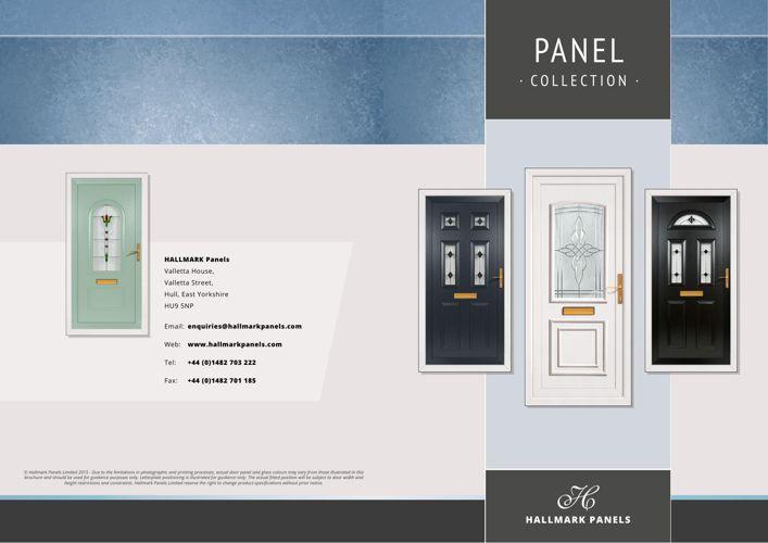 Hallmark PVCu Panel Brochure