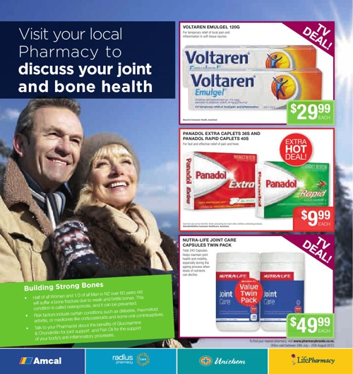 Pharmacybrands Catalogue August 2013
