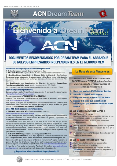 ACN Dream Team - Documentos Corporativos