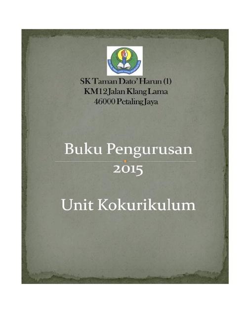 Buku Pengurusan KOKO
