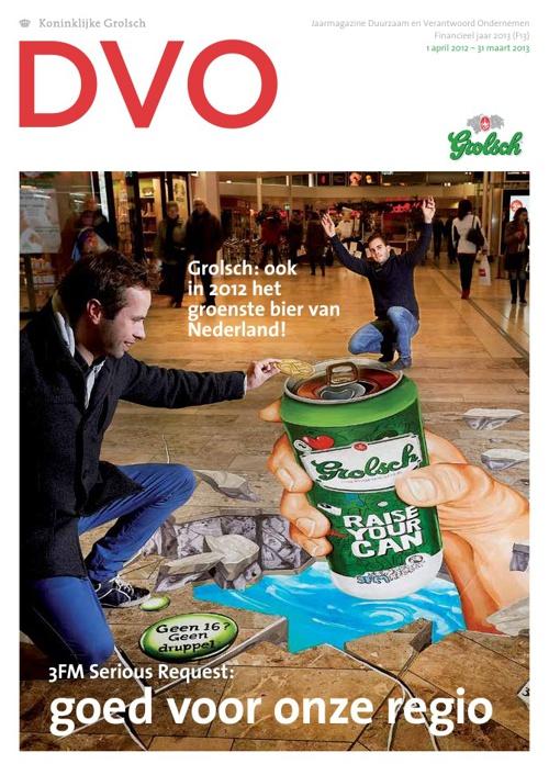 Grolsch Jaarmagazine 2013
