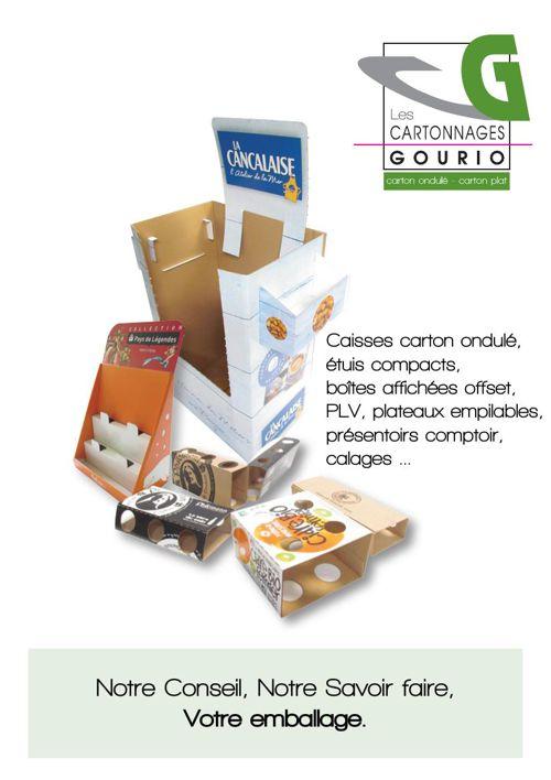 plaquette Les Cartonnages Gourio 2015