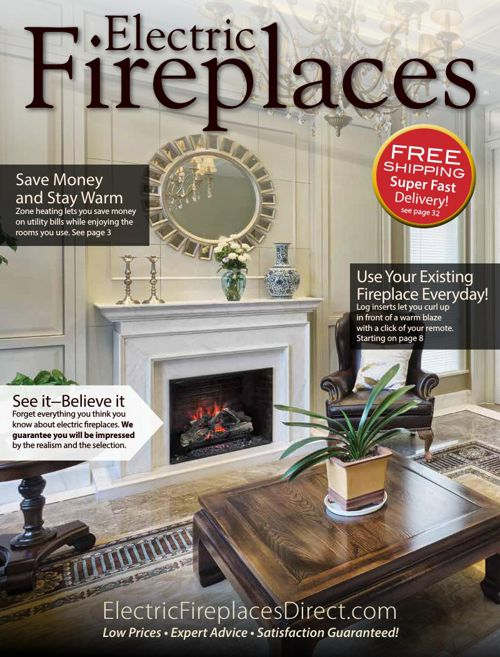 Electric Fireplaces Direct Fall 2015 Catalog