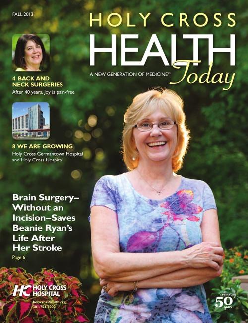Holy Cross Health Today Fall 2013