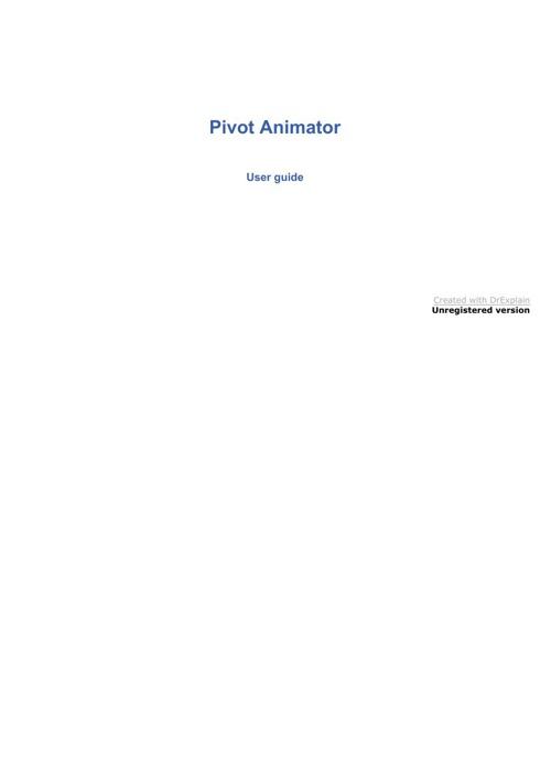 Pivot_Animator_Help