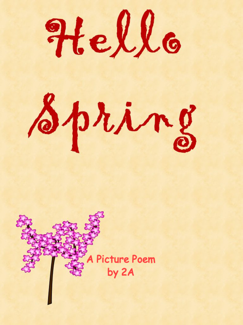2nd Grade Spring Poems