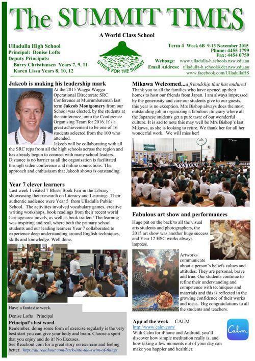 T4 Wk6B Summit Times 2015