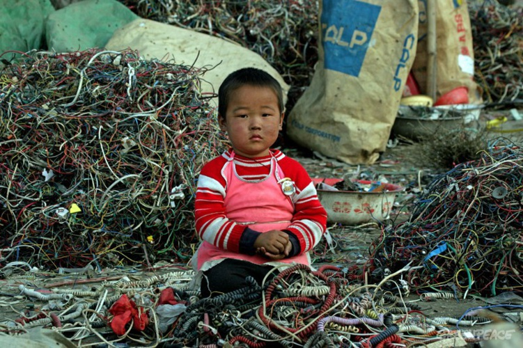 E-Wastes in Chinese's World