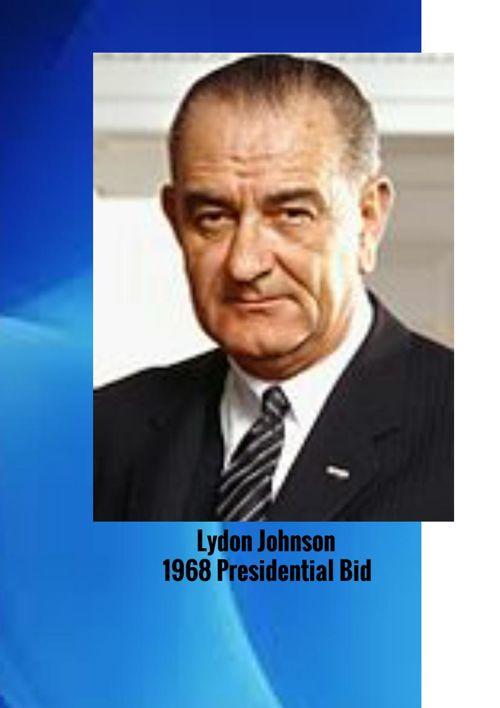 1968 - Presidential bid