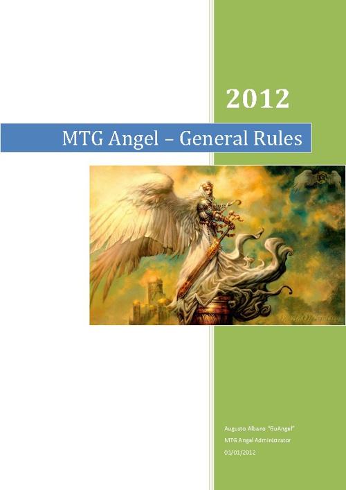 General Rules - MTG Angel