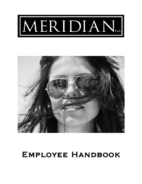 Meridian Employee Handbook