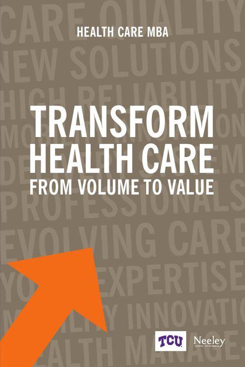 TCU Neeley Health Care MBA brochure