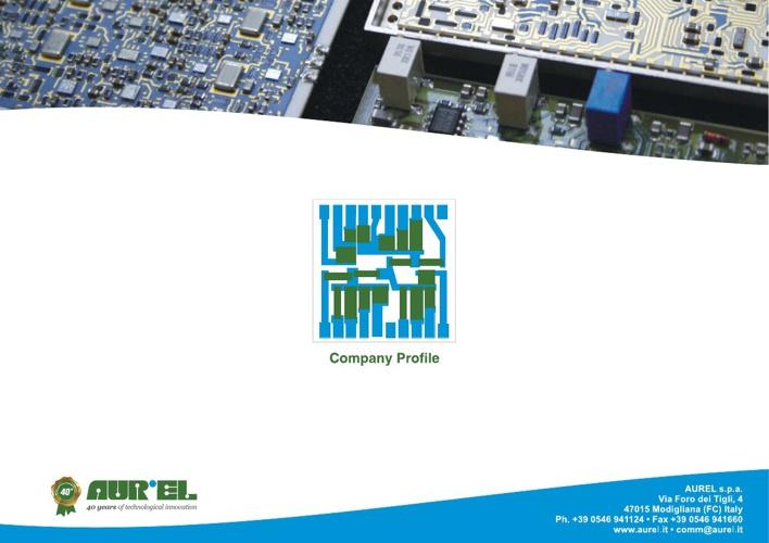 AUREL SPA - Company Profile