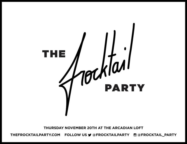 The Frocktail Party Sponsorship deck