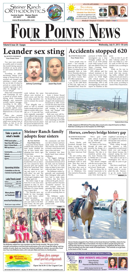 Four Points News July 31 2013 Issue