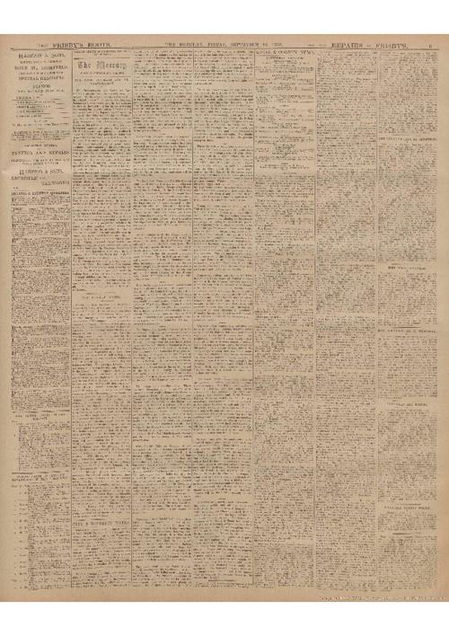 Lichfield Mercury September 12th 1902