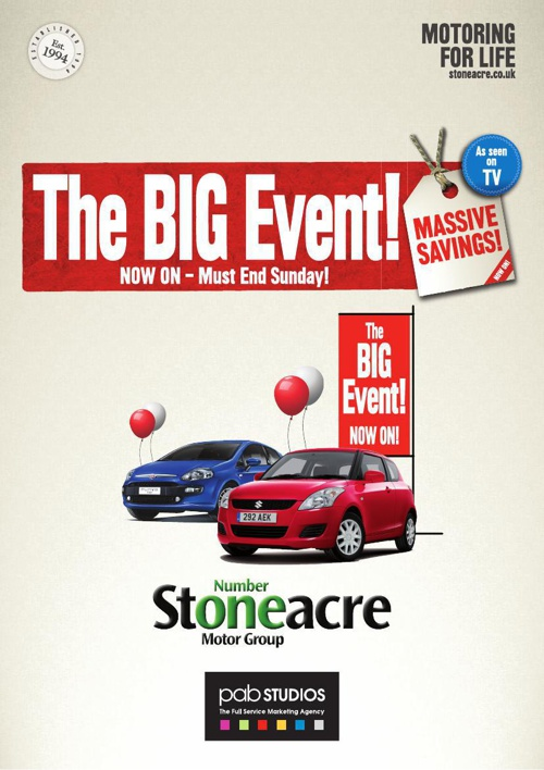 Stoneacre Big Event Pack