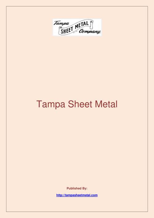 Tampa Sheet Metal