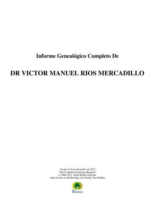Copy of Arbol Genealógico