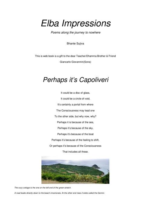 Peraphs it's capoliveri