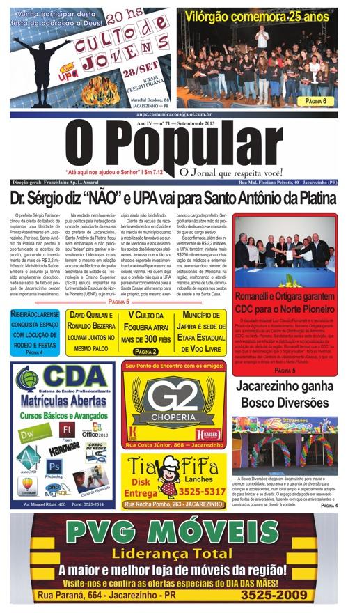 O Popular - O Jornal Que Respeita Você!