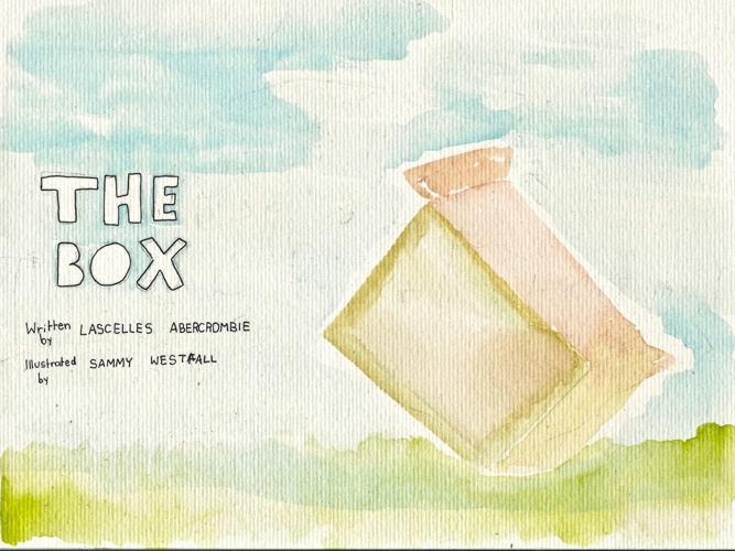 """The Box"" Poem Book"
