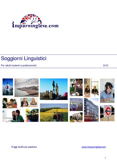 Imaproinglese Brochure