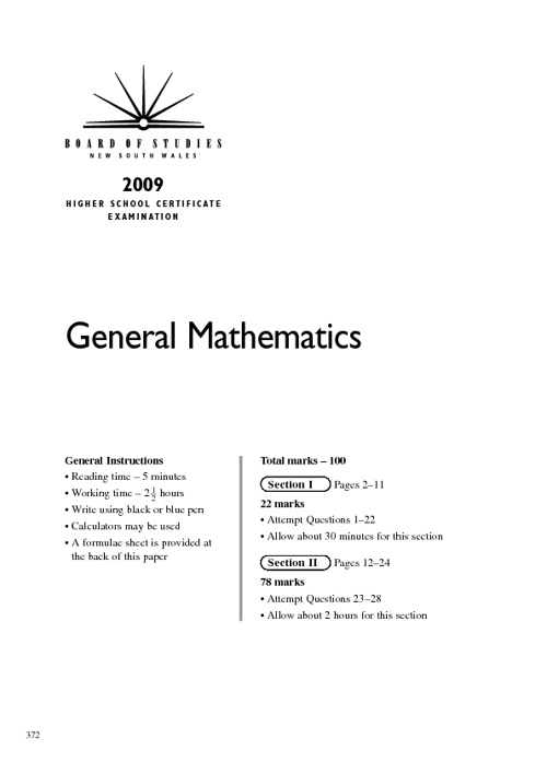 general maths trial paper hsc General maths past papers name size 2011 trial hsc general maths 2008 cssa general mathematics trial paper solutions page 11-16 text marked.