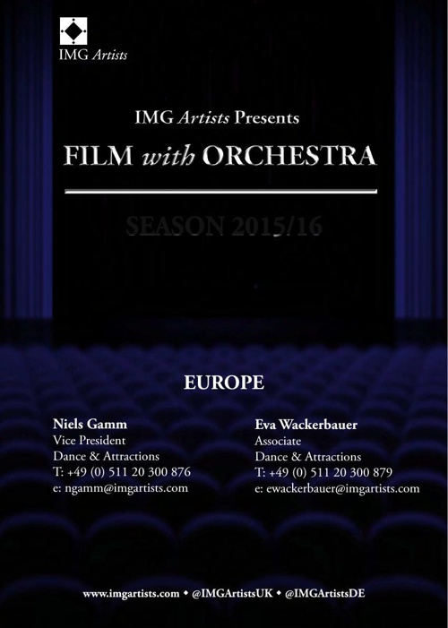 IMGA Film With Orchestra - European Roster Season 2015/16