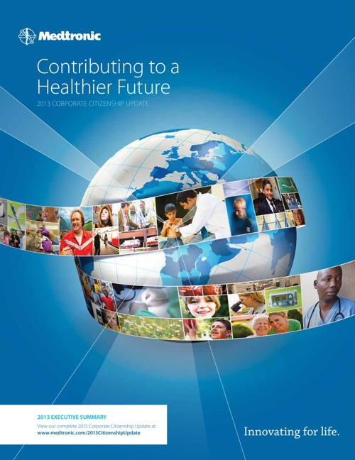 Medtronic 2013 Corporate Citizenship Update