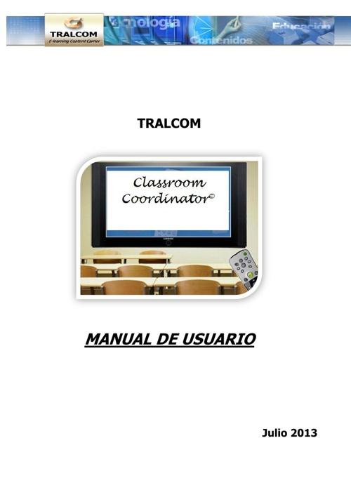 Manual de la plataforma