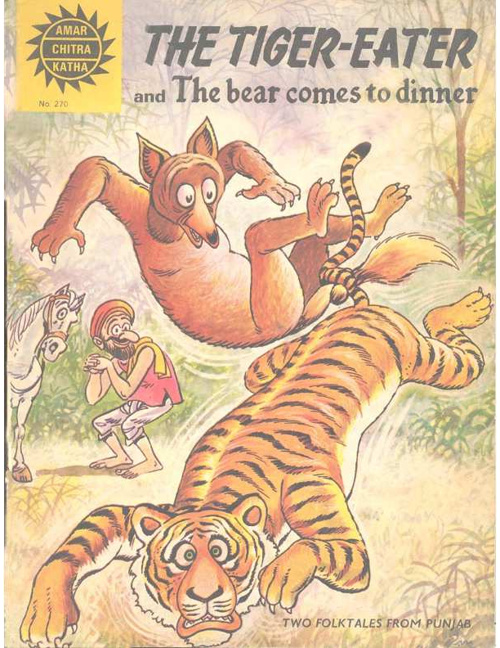 The Tiger Eater and the Bear comes to dinner