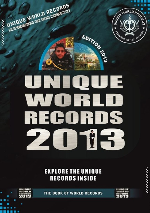 UNIQUE WORLD RECORDS 2013 PREVIEW