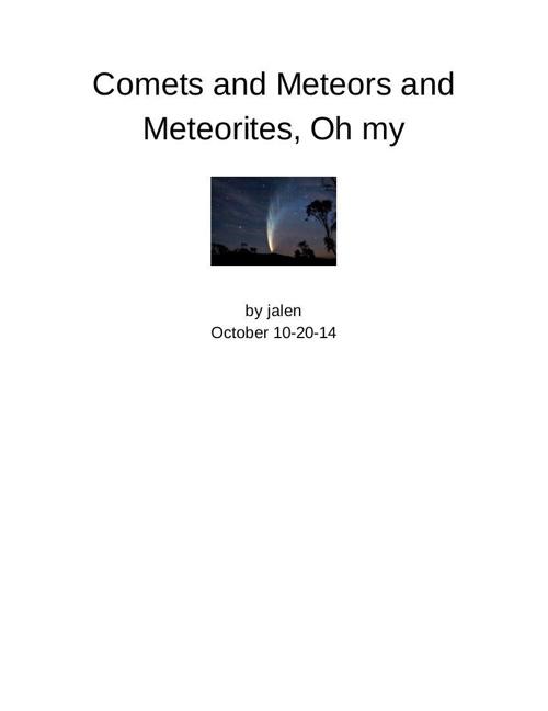 Comets - Jalen Franklin - Google Docs