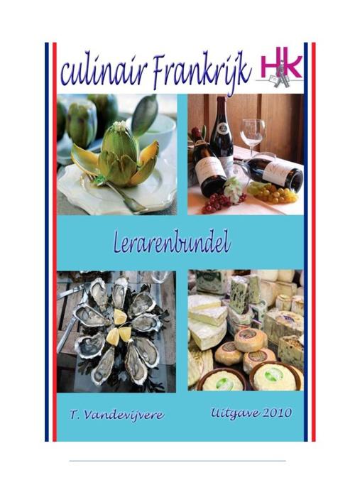 Culinair Frankrijk - lerarenbundel