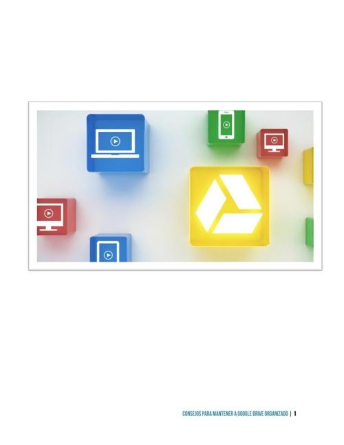 E-Book Cinco consejos para mantener Google Drive organizado