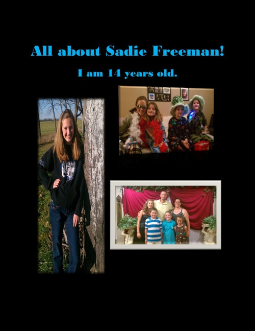 All About Sadie Freeman