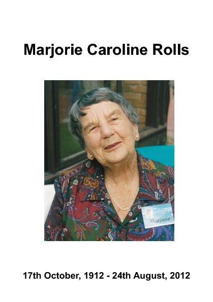 Marjorie Rolls Sample 3