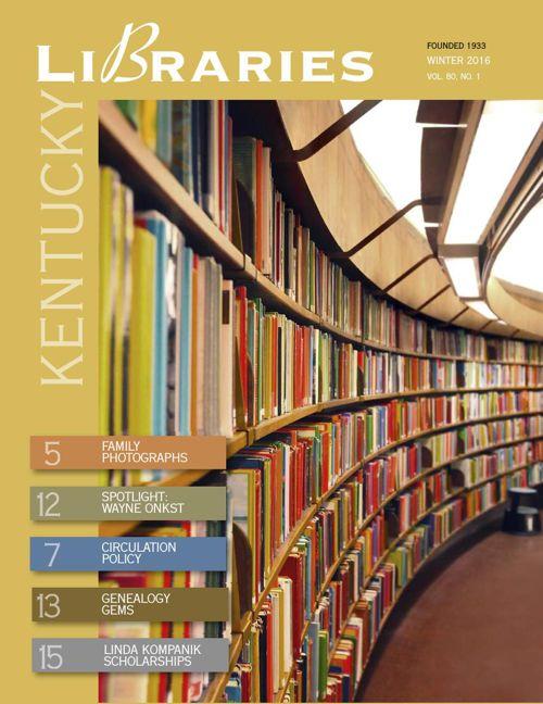 kentucky libraries_v80 no1