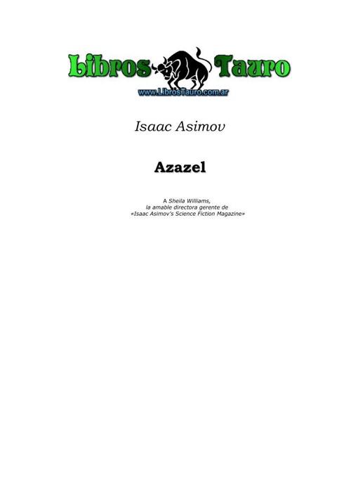 Asimov, Isaac - Azazel