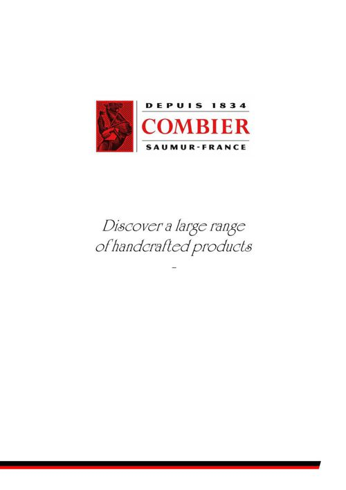 Catalogue Combier 2015