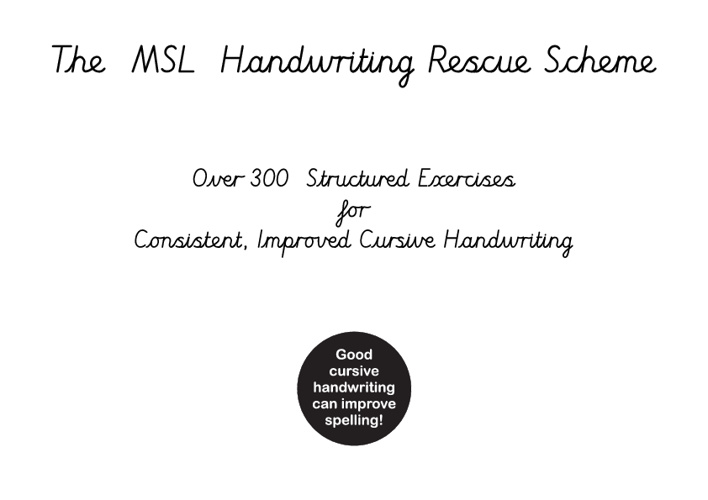 New Handwriting Scheme
