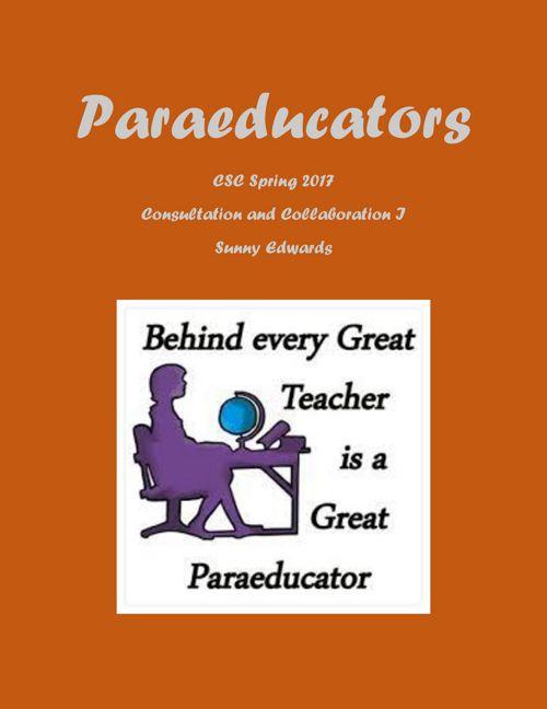 Paraeducators Assign #6