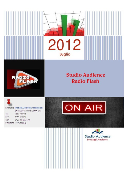 Radio Flash luglio 2012
