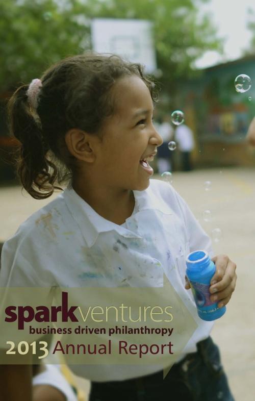 Spark Ventures 2013 Annual Report