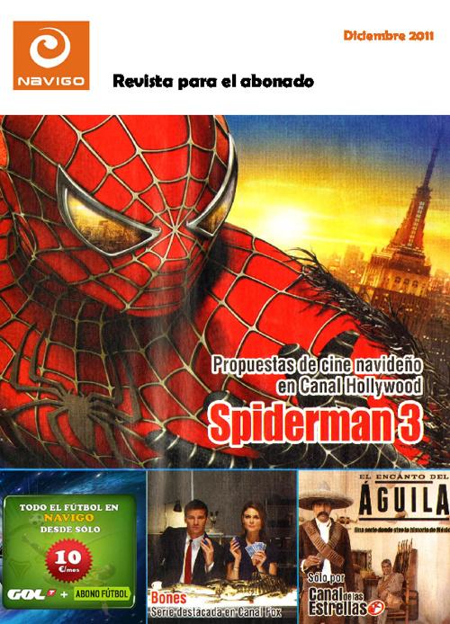 Revista Navigo TV Diciembre 2011