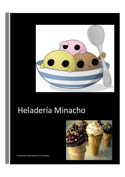 Creación de un Blog para la publicidad de la Heladería Minacho