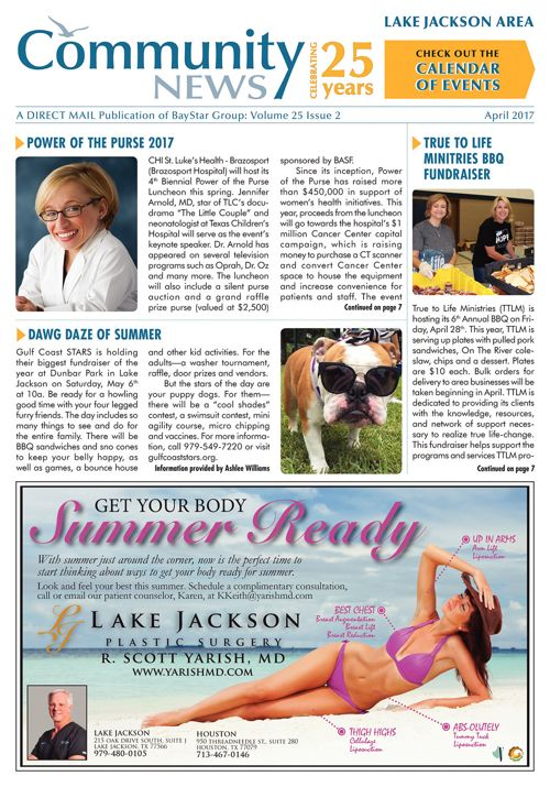 Lake Jackson Community News Volume 25 Issue 2