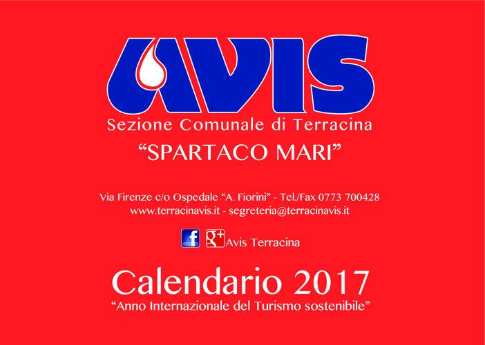 Calendario 2017(Ago-Dic) AVIS Terracina